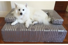 Magnetic Designer Pet Bed with Suede Cover