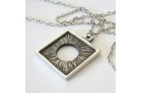 Magnetic Necklet 'Eclipse' - Pewter