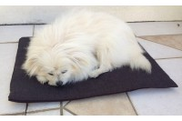 Magnetic Pet Pad with Fur Cover