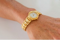 Magnetic Watch Gold or Silver