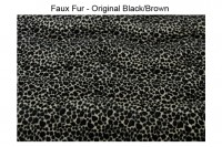 Magnetic Pet Cushion Faux Fur - Animal Print