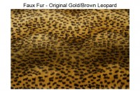 Magnetic Pet Collar Faux Fur - Animal Print