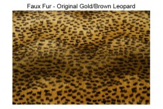 Magnetic Pet Coat - Faux Fur Animal Print